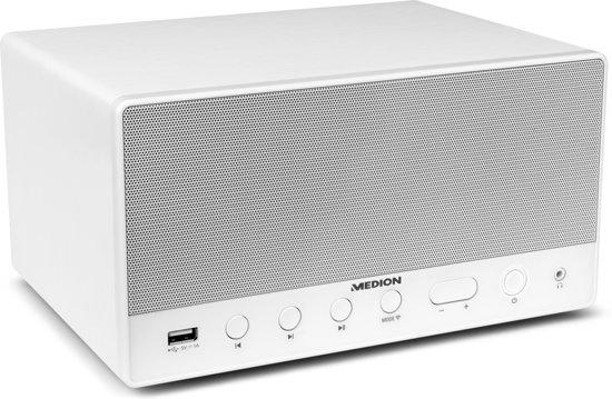 MEDION® LIFE P61071 WiFi Multiroom Speaker (wit)