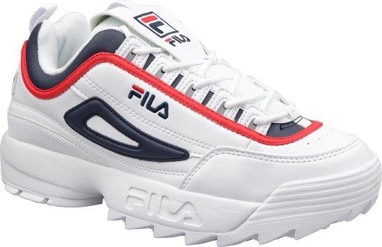 17f4df230ca bol.com   Fila Disruptor CB Low 1010575-01M, Mannen, Wit, Sneakers ...