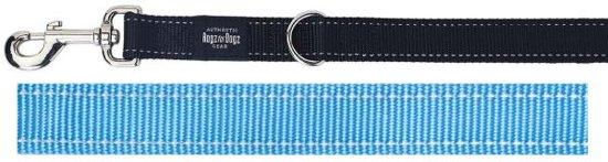 Rogz For Dogs Lumberjack Multipurpose Hondenriem - 25 mm x 1.6 m - Turquoise