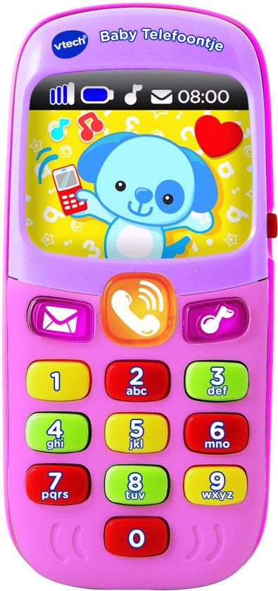 Afbeelding van VTech Baby Telefoontje roze - Babytelefoon speelgoed