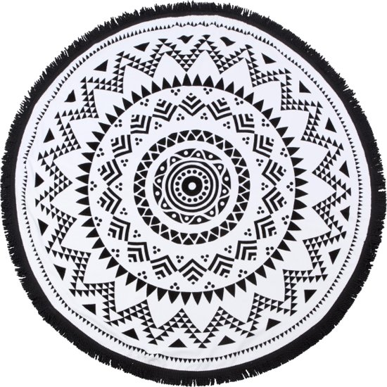 Aztec Roundie Doek | 100% Polyester | 150 x 150 cm | Fashion Accessoire/Home Deco/Musthave