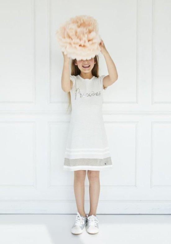 witte jurk maat 146