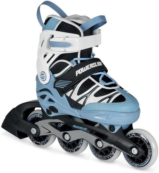 Powerslide Inline Skates Orbit Combo Set Junior Blauw Maat 35/38