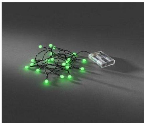 Konstsmide 1491-907 20 lampen LED Light decoration chain Zwart