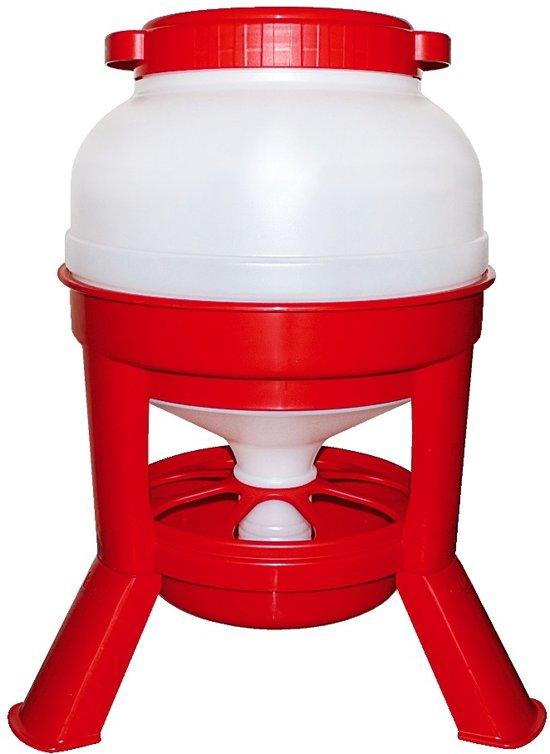 Voedersilo kunststof - 20 liter
