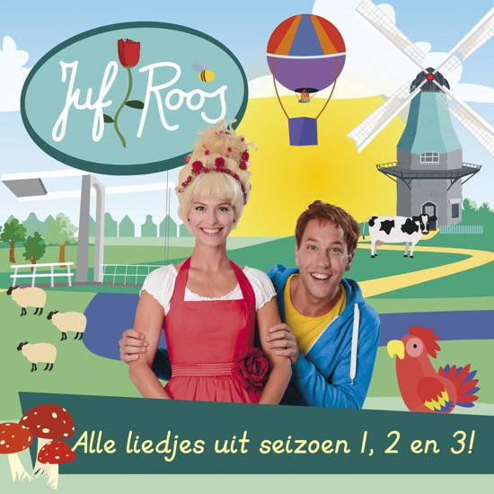 CD cover van Juf Roos - Alle liedjes uit seizoen 1, 2 en 3! van Juf Roos