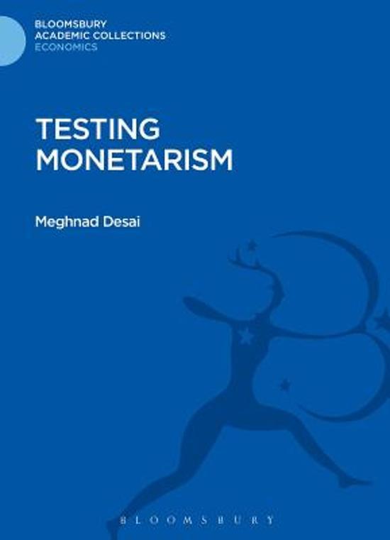 Testing Monetarism