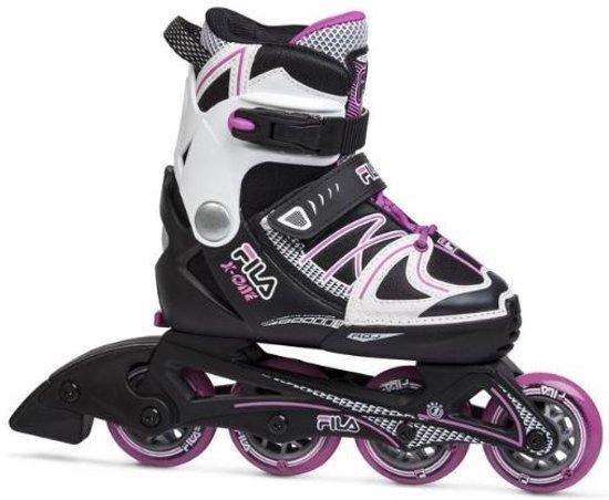 1b6998ee940 bol.com | Fila Inline Skates X One Girl Verstelbaar Zwart Wit Mt 38/41