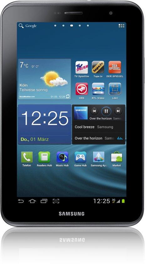 Samsung Galaxy Tab 2 7.0 (P3100) - WiFi en 3G / 8GB - Grijs