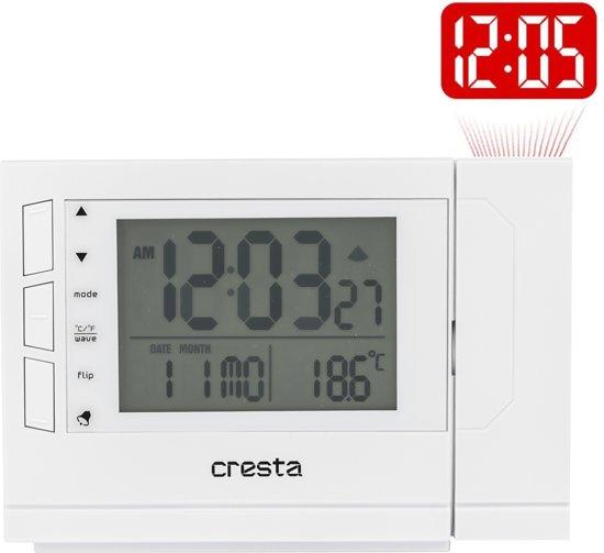 Cresta Digitale wekker met projector PRC280 zwart 24090.01