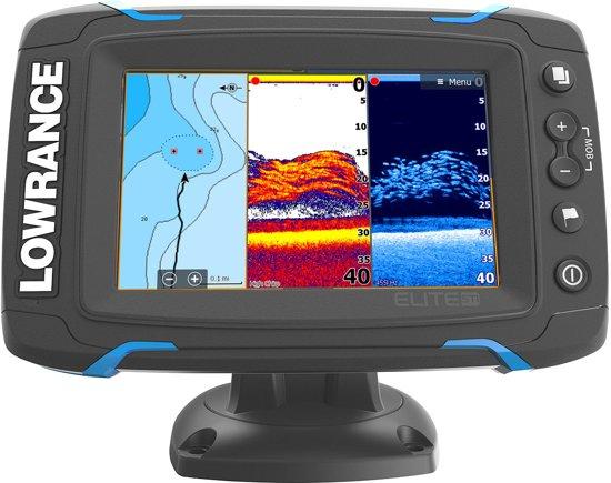 Lowrance Elite 5 TI | Fishfinder | Met Down Scan