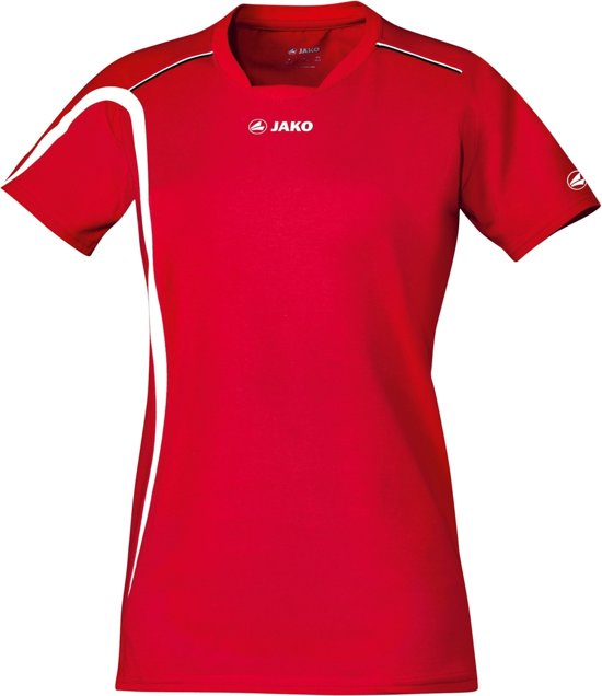 Jako Indoor Shirt Match - Sportshirt -  Dames - Maat L - XL - Rood