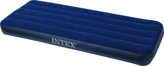 Intex Downy Junior Classic Luchtbed - 1-persoons - 191 x 76 x 22 cm