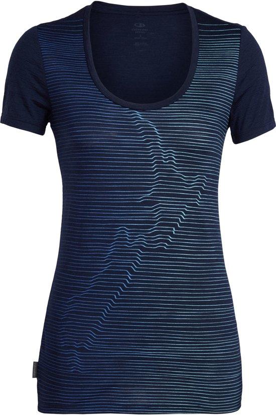 Icebreaker Womens Spector Nz Relief Merino T-Shirt