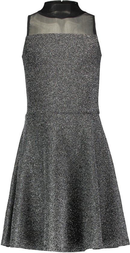 20a9768ce82f76 Coolcat Jurk Party dress Ntiaspark - Metallic Zilver - 170 176