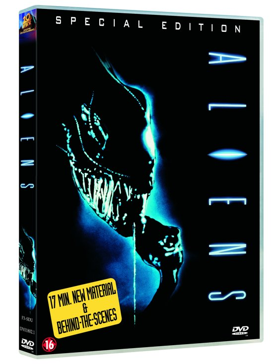 Cover van de film 'Aliens'