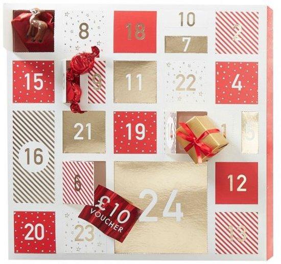 Kerst advent kalender om zelf te vullen Valentinaa