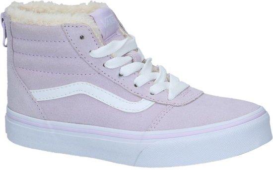 Licht Roze Sneakers : Bol vans ward high zip licht roze skateschoenen