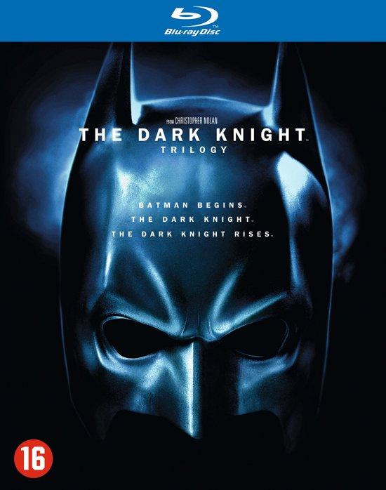 DVD cover van The Dark Knight Trilogy (Blu-ray)