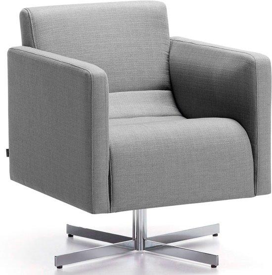 Moderne Comfortabele Fauteuil.Bol Com Laforma Cube Fauteuil Met Arm Grijs