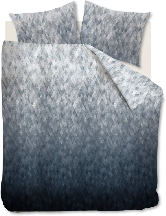 Kardol Harmonies - Dekbedovertrek - Lits-jumeaux - 240x200/220 cm - Blauw