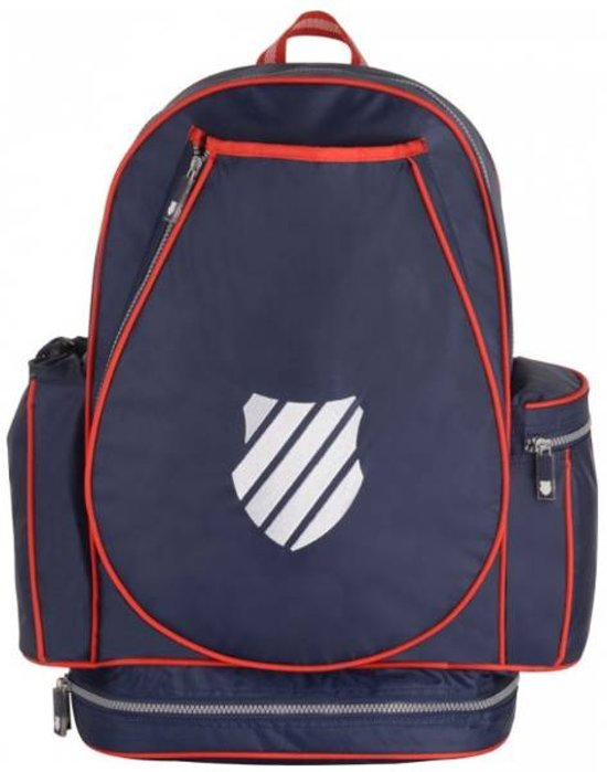 95175cc72a8 bol.com | K-Swiss Ks Tac Backpack Sr Ibiza Navy/Red Rugzak - Navy/Red