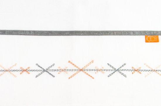 Nijntje Ledikantlaken - Crozz - 100 x 150 cm - borduur + bias band - pink