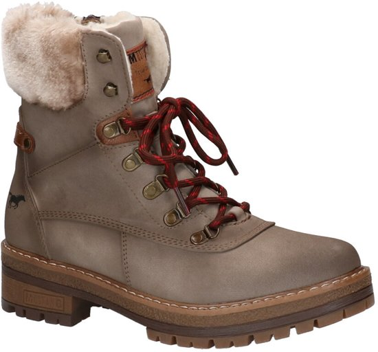 Mustang Taupe Boots  Dames 42