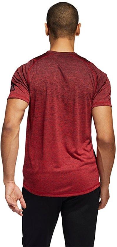 adidas FreeLift 360 Gradient Graphic shirt heren rood melange