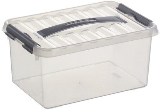 Sunware opbergbox 6 l 30 cm x 20 cm x 14 cm for Ladenblok 30 cm breed