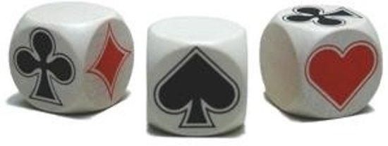 Afbeelding van het spel Klaverjas Dobbelstenen Troeftrekker