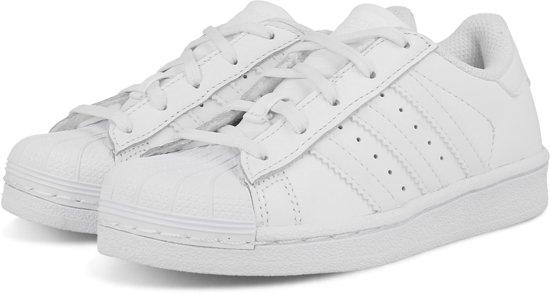 5949f6f2a94 adidas SUPERSTAR FOUNDATION BA8380 - schoenen-sneakers - Unisex - wit - maat  31