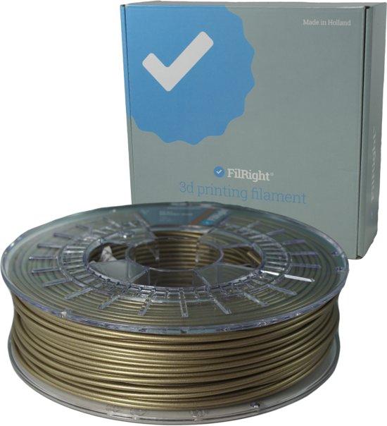 PLA+ Filament - Goud Metallic - 2.85mm - 750 g - FilRight Pro
