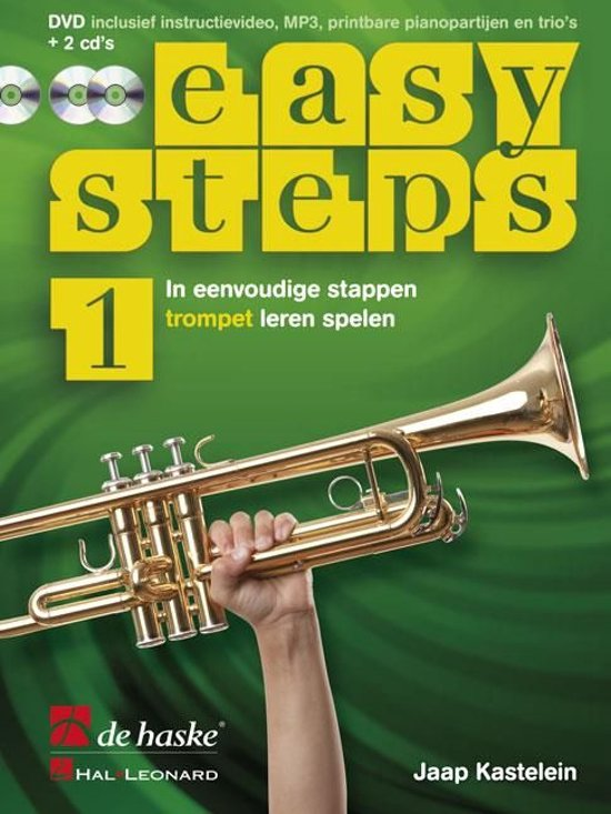 Easy Steps deel 1 methode voor trompet