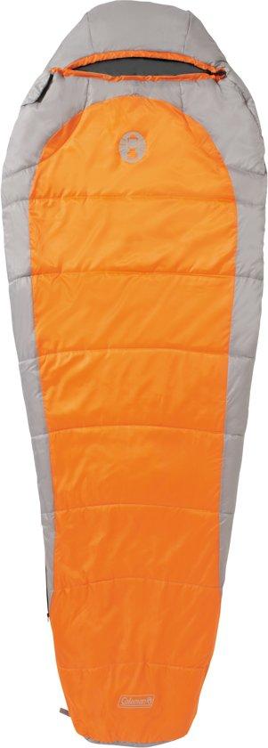 5f077057a48 Coleman Slaapzak - Silverton Comfort 150 - 223x81 Cm - Oranje/grijs