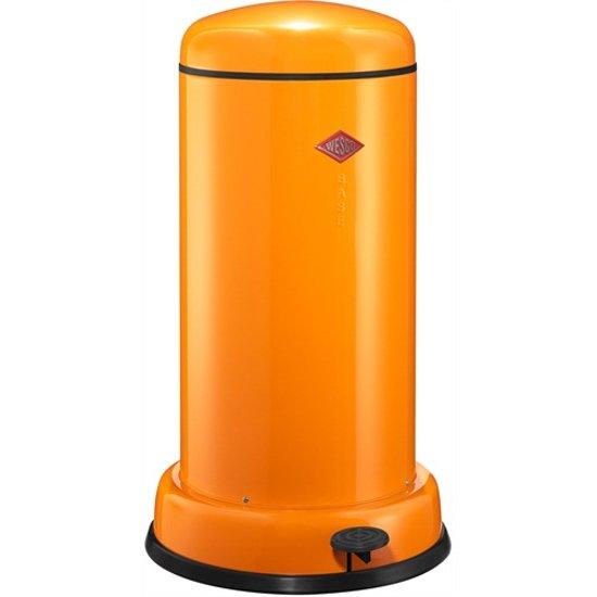 Wesco Baseboy 20 Liter Rood.Wesco Baseboy Pedaalemmer 20 L Oranje