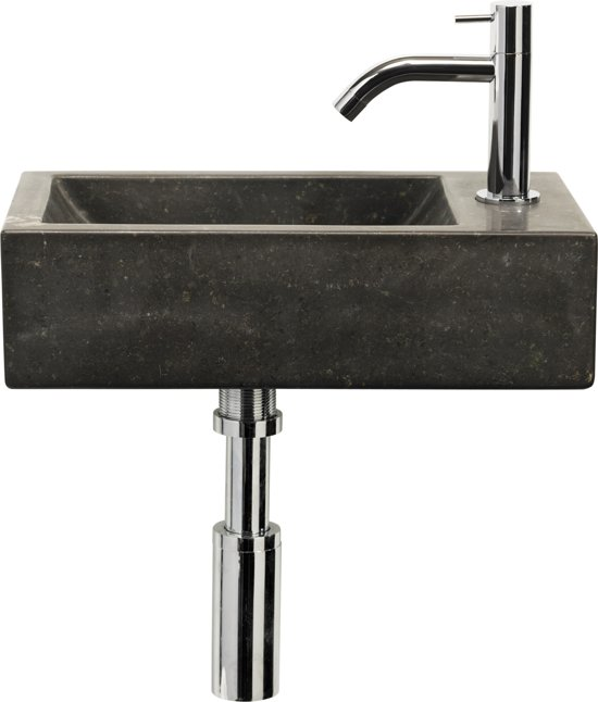 ... Patra Fontein Toilet Rechts - Set - Fontein 40 x 23 cm inclusief