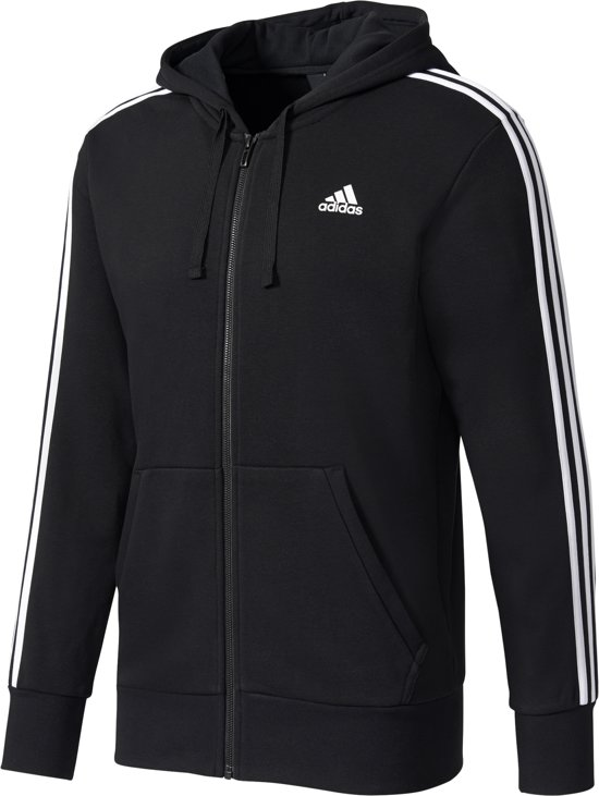 adidas Essentials 3Stripes FullZip Hoodie Heren