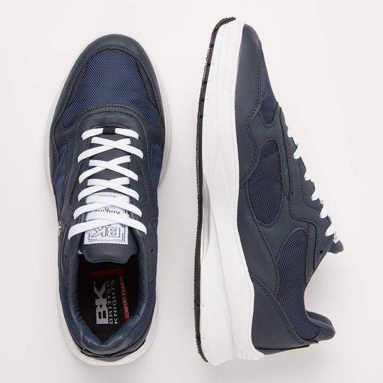 Heren Maat Chrome Blauw 39 LaagDonker Knights Sneakers British uZiOkXP