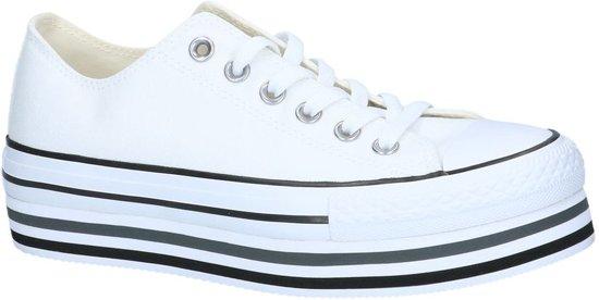 67d03b25664 bol.com | Witte Sneakers Converse All Star Chuck Taylor Platform Layer
