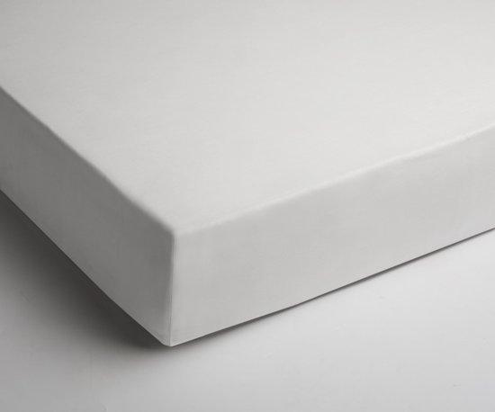 Comfortabele Katoen Hoeslaken Wit | 90x200 | Fijn Geweven | Ademend En Zacht
