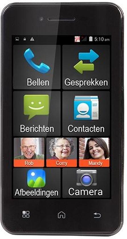 Fysic FMA-5000ZT | Senioren Smartphone | 512mb | Zwart