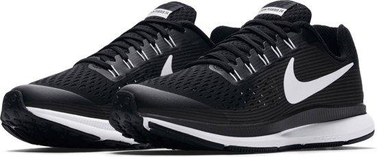 Nike Zoom Pegasus 34 Hardloopschoenen Kinderen - Black/White-Dk Grey-Anthracite