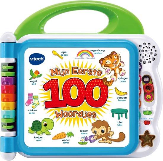 Afbeelding van VTech Baby Mijn Eerste 100 Woordjes - Interactief Boek speelgoed