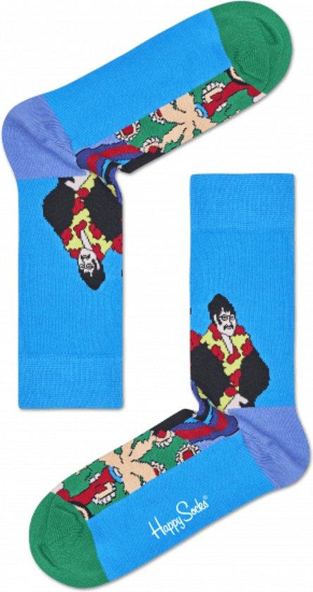 3fdfefd434d bol.com | Happy Socks The Beatles Pepperland Sokken - Blauw - Maat 36-40