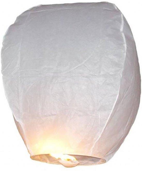 Wensballon Wit 75cm (I18-2-1)