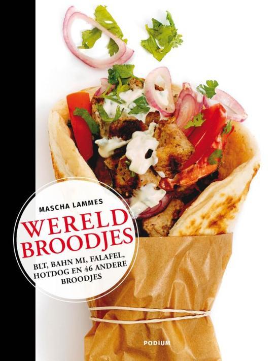 Boek cover Wereldbroodjes van Mascha Lammes (Paperback)