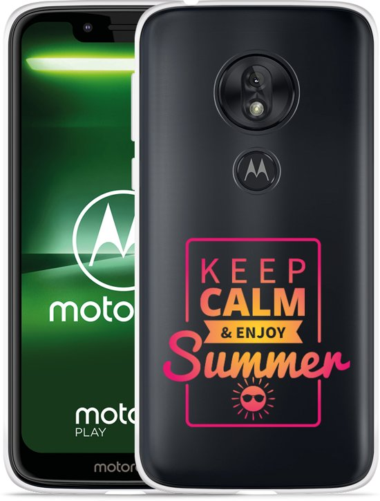 Moto G7 Play Hoesje Summer Time