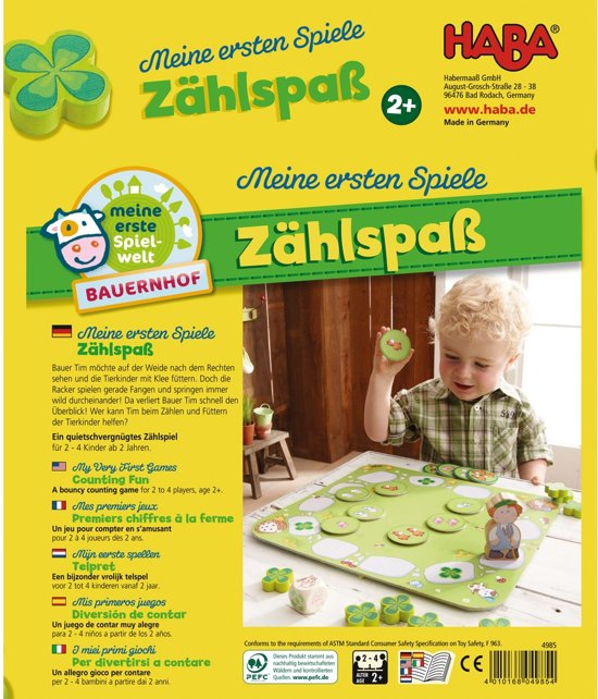 Thumbnail van een extra afbeelding van het spel Spiel - Meine ersten Spiele - Zählspaß (Duits) = Frans 5752 - Nederlands 5753