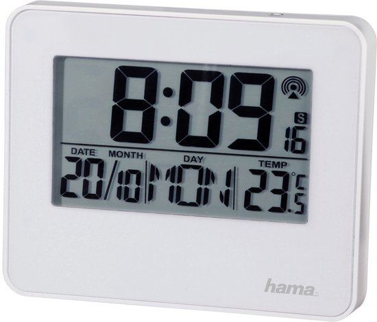 Hama Wekker radiogestuurd RC650 met LED wit